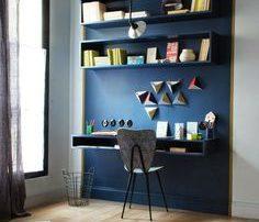 Διακοσμηση με μπλε τοιχο