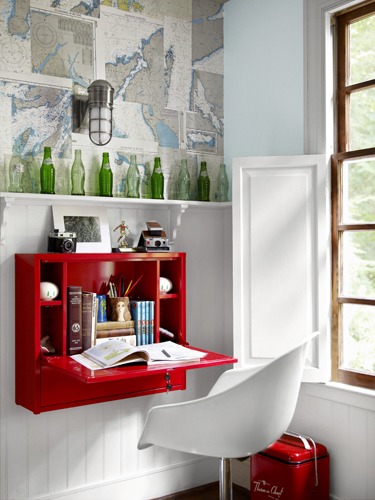 Έξυπνο γραφείο για μικρό χώρο