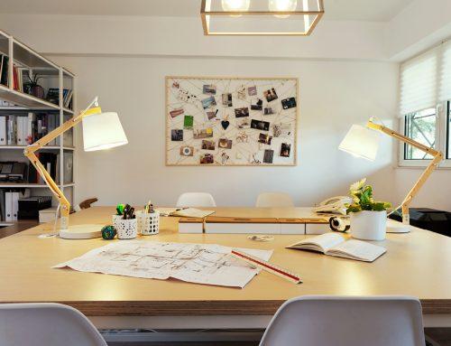 Σχεδιασμός χώρου των γραφείων μας