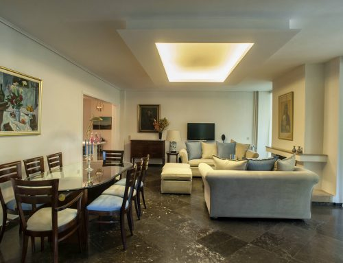 Διαμέρισμα με κλασική επίπλωση