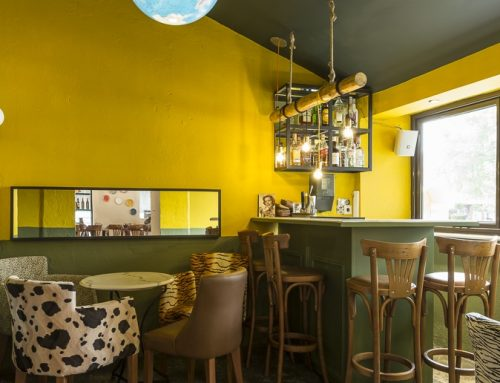 Διακόσμηση Cafe Bar